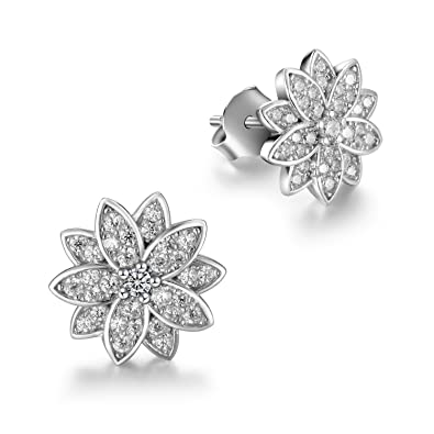 L'aier Freshwater Pearl with 925 Sterling Silver Stud Earrings e5H93