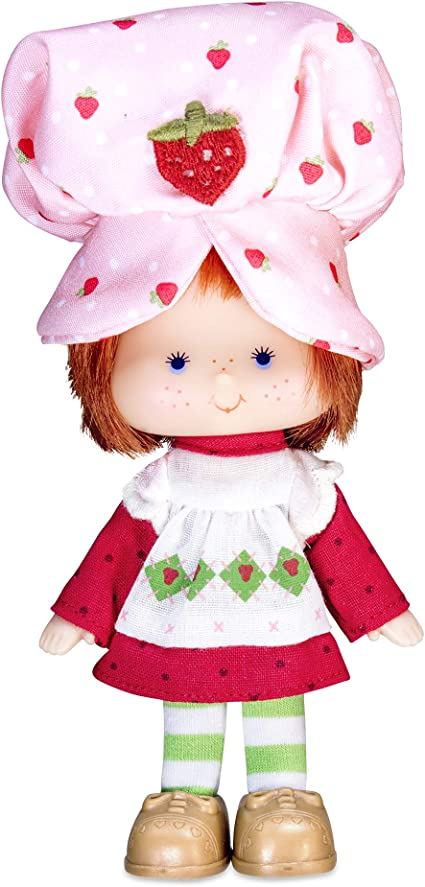 Cake strawberry doll vintage
