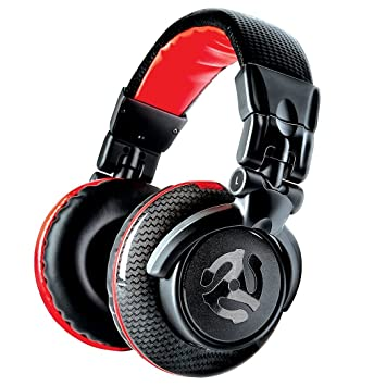 b1d793e653b Numark Red Wave Carbon - Lightweight High-Quality Full-Range DJ Headphones  With Swivel