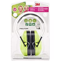 3M Peltor Kid Kapselgehörschützer für Kinder ab 2 Jahren, Lärmpegel bis 98 dB, sehr leicht, Grün