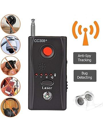 Hangang Detector De Micrófonos Ocultos Microespías CC308 Detector Anti-Espía De Rf Para, Micrófono