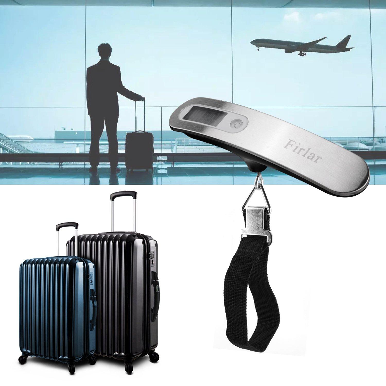 Exacto equipaje portátil Digital escala colgante escala ...