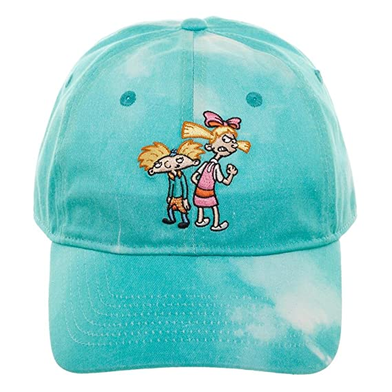 the latest efcbb 99c61 Amazon.com  Hey Arnold Hat - Adjustable 90s Cartoon Hat Blue  Clothing