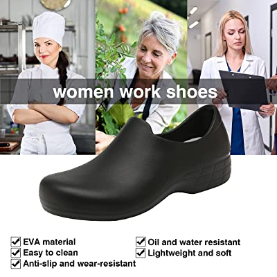 New Woman Kitchen Cook Shoes Restaurant Water Proof Oil Resistant Non-Slip Shoes