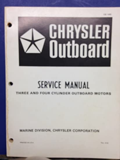 Manual chrysler pdf outboard
