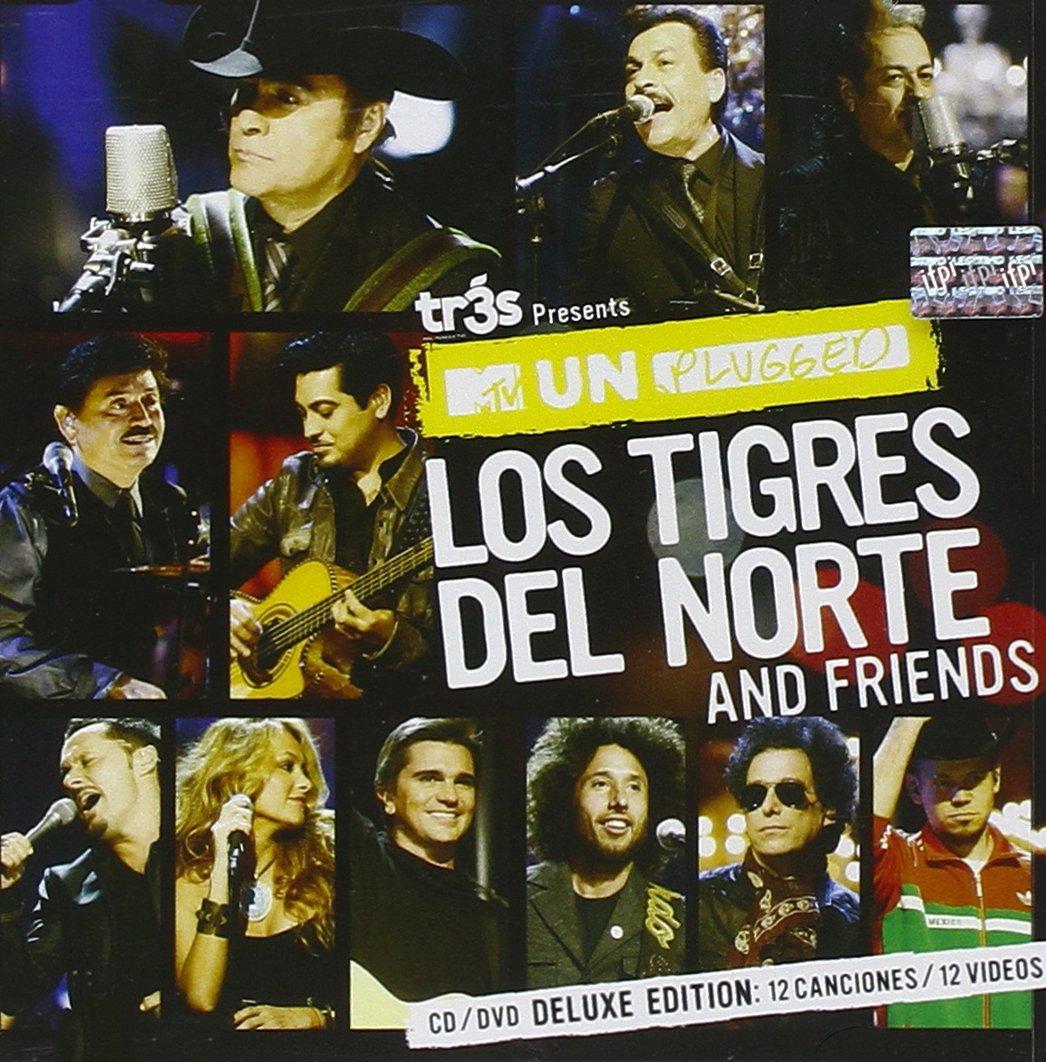 MTV Unplugged Los Tigres Del Norte And Friends [CD/DVD Combo] [Deluxe Edition] by Fonovisa