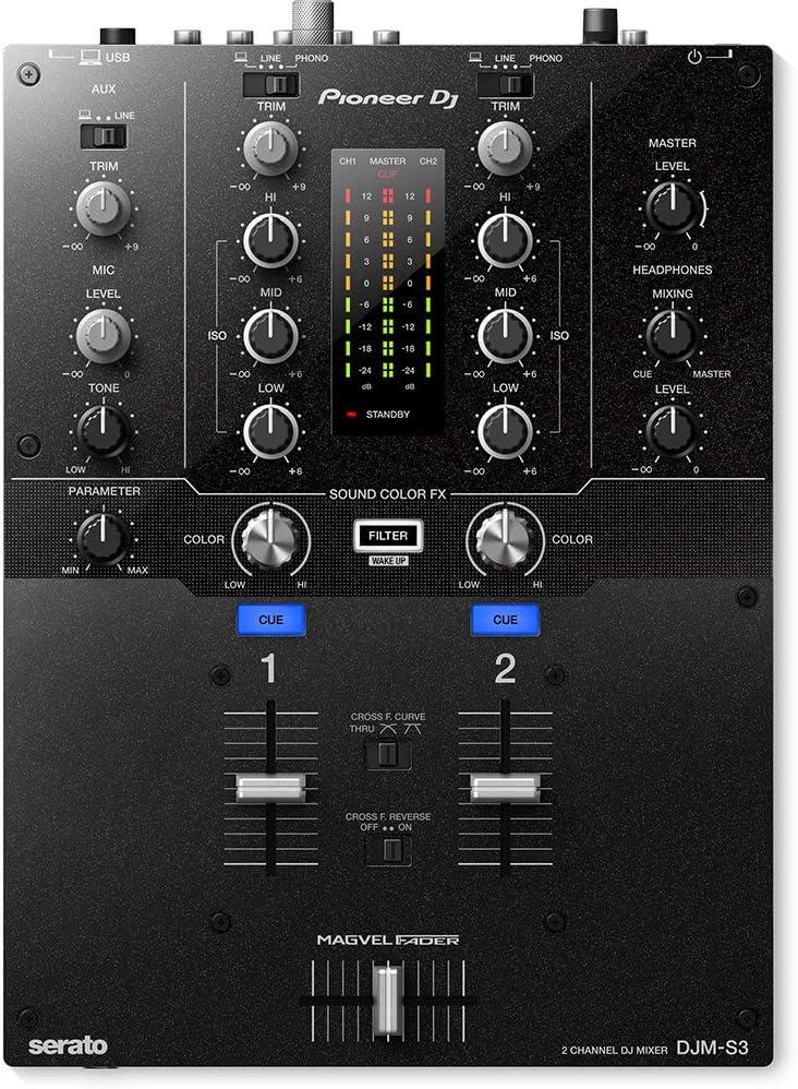 Pioneer DJ DJM-S3 2 Mixer