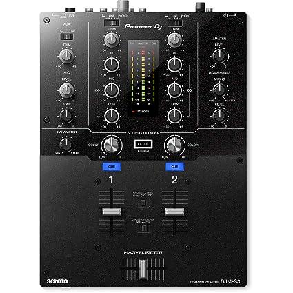 Amazon.com: Pioneer Dj djm-s3 2 canales mezclador para ...