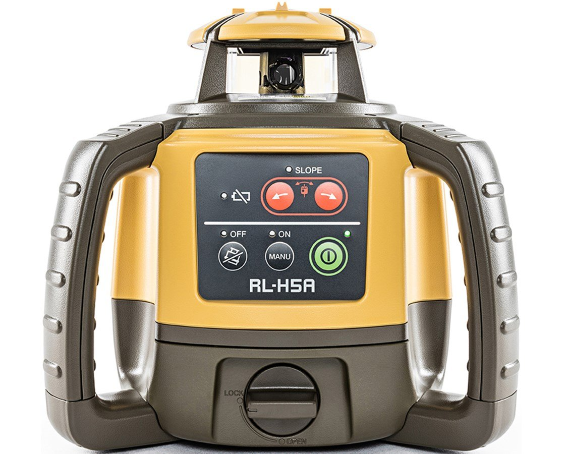 TOPCON RL-H5A /PS.RB, w/LS-80L, RBCell (rechargeable batteries)