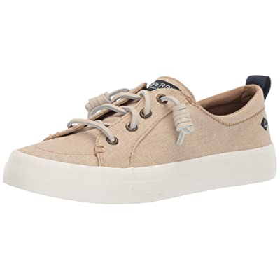 Sperry Women's Crest Vibe Washed Linen Sneaker | Shoes