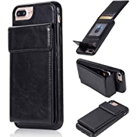 Bangcool iPhone 8 Plus Wallet Case (Black)