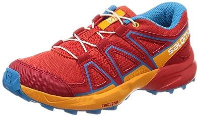 meet e9cd0 c2663 Salomon Speedcross J, Chaussures de Trail Mixte Enfant, Rouge (Fiery  Red Bright