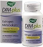 Natures Way DIM-Plus Diindolylmethane, Estrogen Metabolism Formula (120 Capsules)