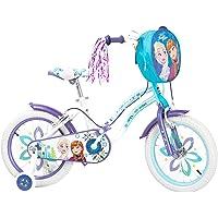 Spartan 16-Inch Disney Frozen Premium Bicycle with Bag - Q-FR-16P, Multi Color