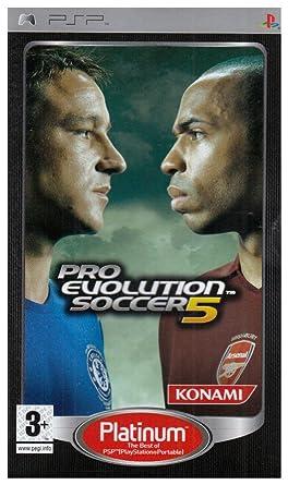 Pro Evolution Soccer 5 Platinum (PSP): Amazon co uk: PC