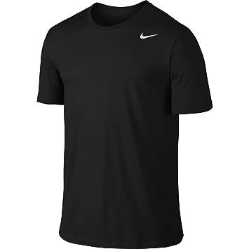Nike Men's Dry Tee Dri-Fit Cotton 2.0 Sleeve, Black/Black/White