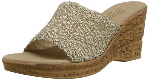 6ff83f0b7b5f O-NEX Onex Women s Bianca-2 Wedge Sandal Beige  Amazon.ca  Shoes ...