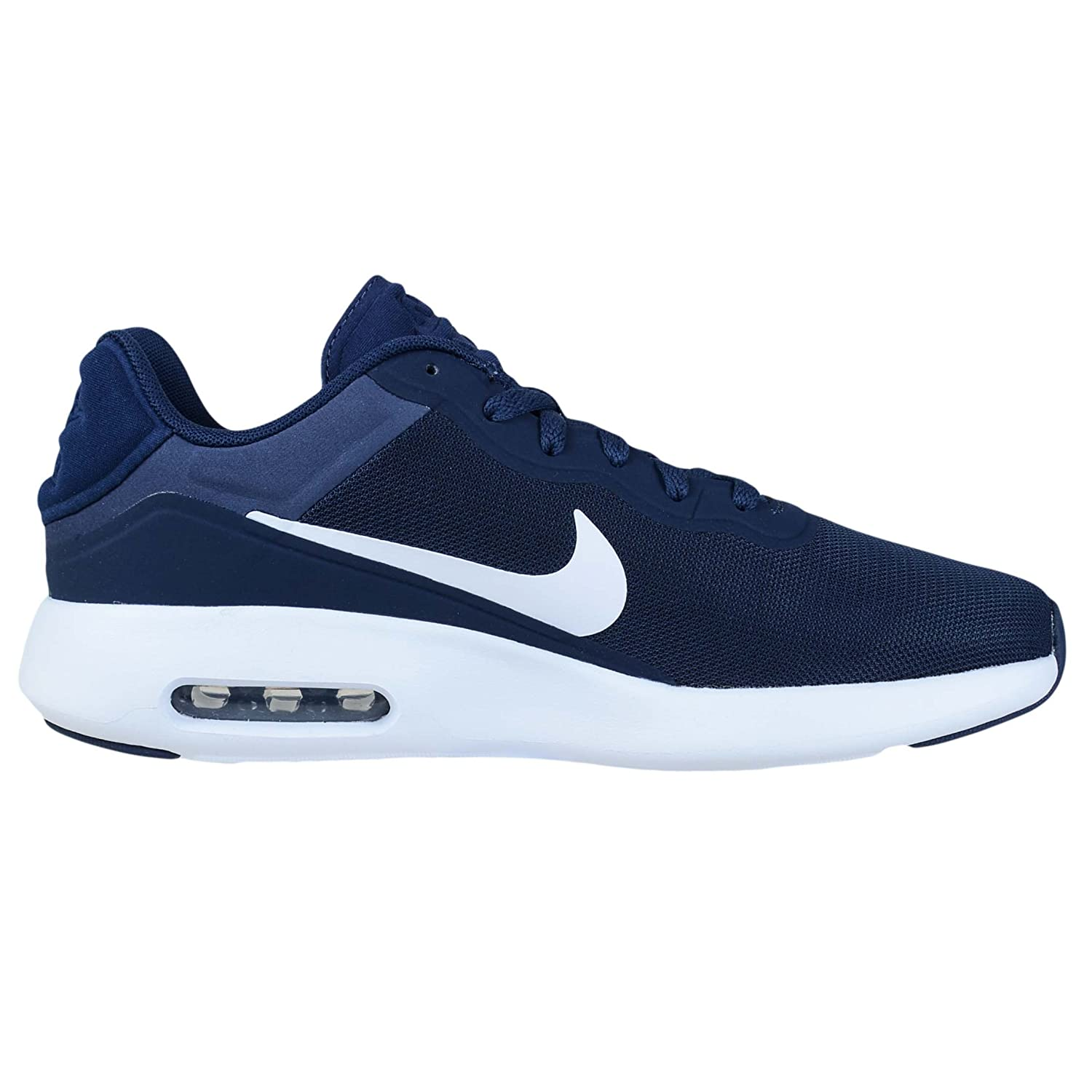 NIKE Air Max Modern Essential Mens Running Trainers 844874 Sneakers Shoes B01N69IKML 9 B(M) US|Midnight Navy White 401