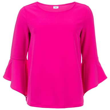 Bell Sleeve Blouse - Pink Jacqueline de Yong Cheap Price Pre Order Clearance With Credit Card Low Shipping Online Choice Cheap Online vgUbqc3