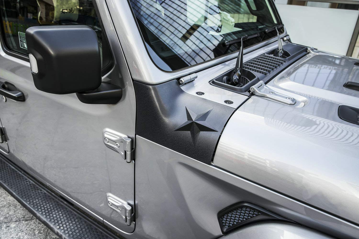 Danti Black Cowl Body Armor Outer Cowling Cover for Jeep Wrangler JL JLU Exterior Accessories Part 2018 2019