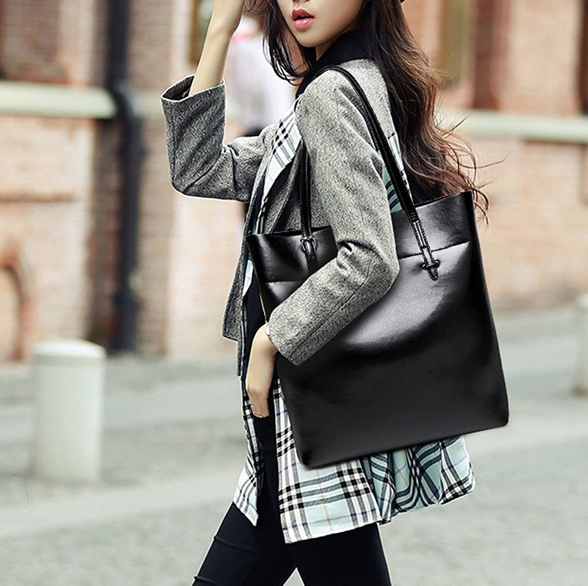 Woman Tote Bag Europe Fashion Simple Casual All-match Single Shoulder Bag