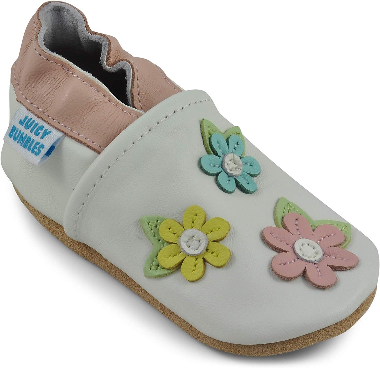 Zapatos de Beb/é Zapatitos Primeros Pasos Zapatillas de Cuero Ni/ño Ni/ña Pantuflas Infantiles 0-6 Meses 6-12 Meses 12-18 Meses 18-24 Meses /… Patucos de Piel con El/ástico para Beb/é