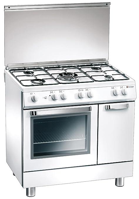 Tecnogas D824WS Libera installazione Gas Bianco cucina ...