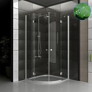 Cuadrantal-cristal de vidrio templado de diseño-ducha de cristal ...