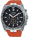 Relojes Lorus Herren-reloj analógico de cuarzo del deporte de silicona RT331EX9