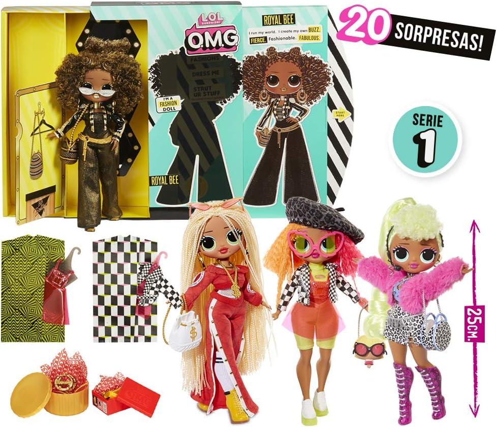 L.O.L Surprise - OMG Muñecas Fashion (Giochi Preziosi LLU95000)
