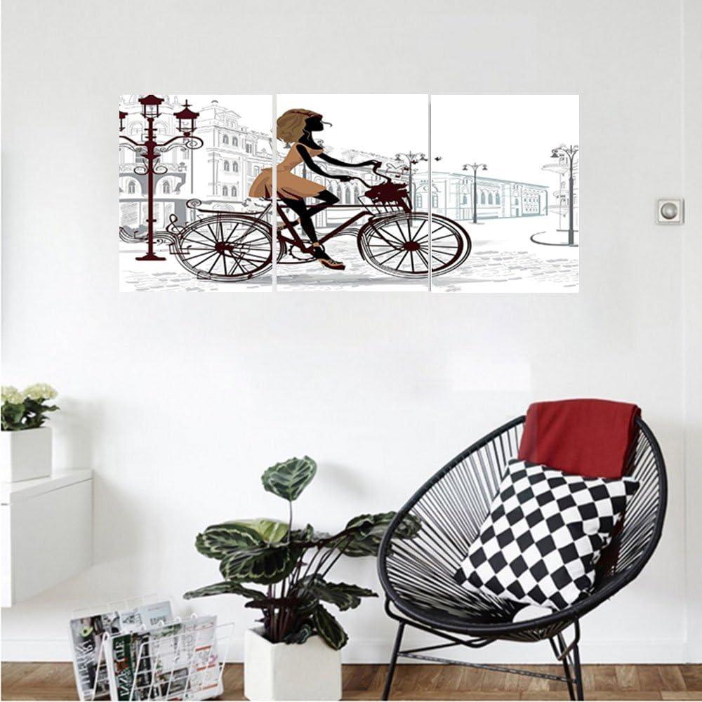 liguo88 Custom Lienzo Teen habitación decoración niña en París ...