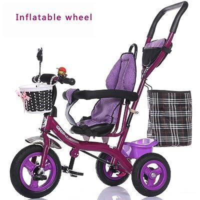 Chariot à roue à bulles, vélo pour enfants, vélo, chariot bébé, tricycle pour enfants ( style : C )