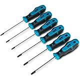 Capri Tools 25000-TSS64PS Kontour Star Screwdriver Set, 6-Piece