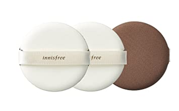 Innisfree Make Up Air Magic Fitting Cushion Puff 3pcs New Improved Matte Finish Higher Coverage Longer