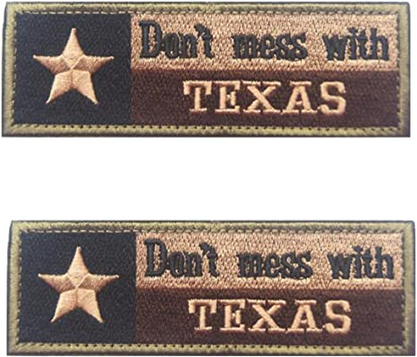 Parche de bordado con la bandera del Estado de Texas táctico ...