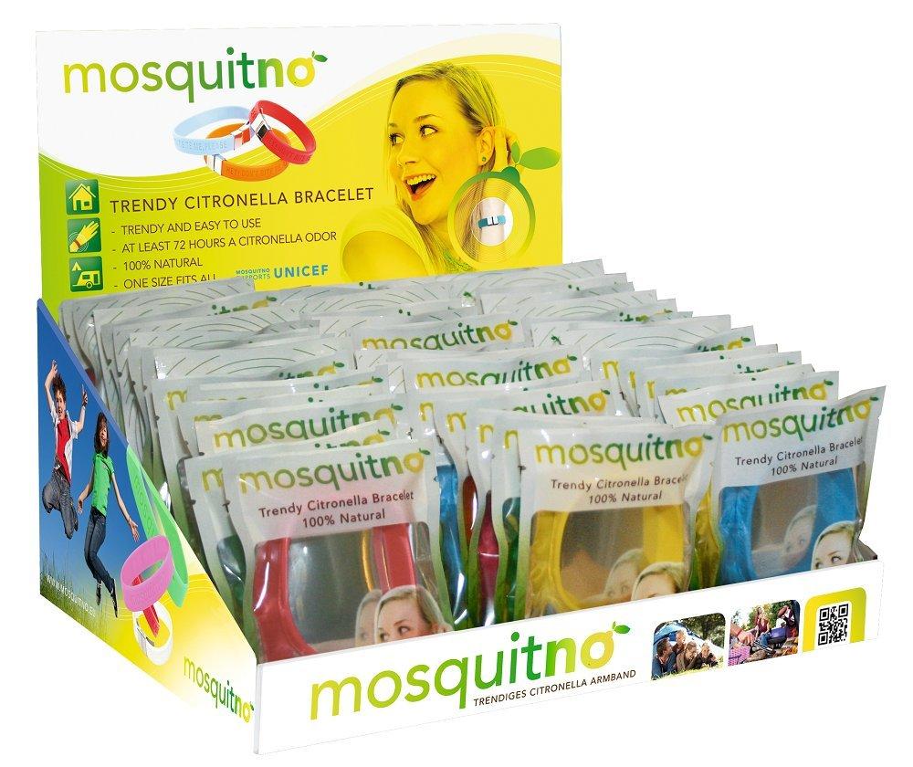 MosquitNo Single Citronella Bracelet, Multicolor by Mosquitno