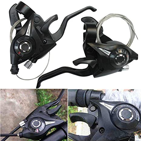Shop Sport 1 par de Cambio de Marchas para Bicicleta MTB de 3 x 7 ...