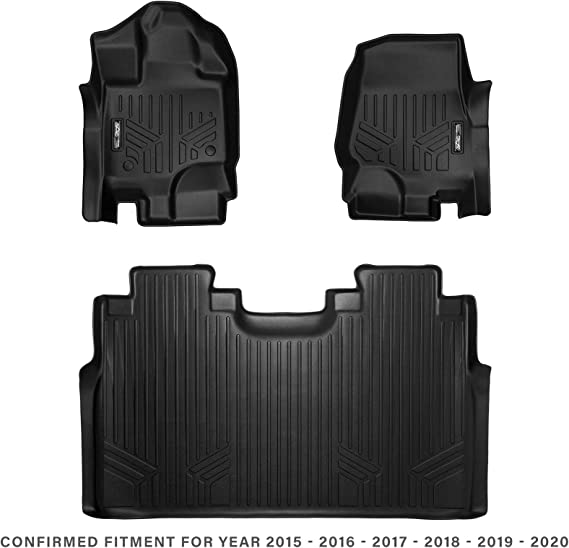 MAX LINER A0167/B0167 for 2015-2020 Ford F-150 SuperCrew Cab with 1st Row Bucket Seats