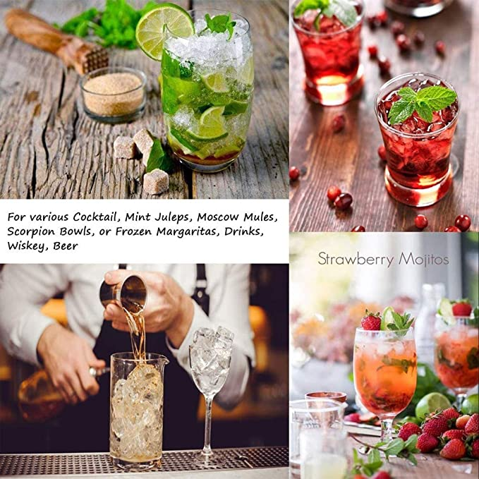 Profesional Lewis Bolsa y Mazo y Barman Kit & Bar Herramientas Accesorios de cocina, 12