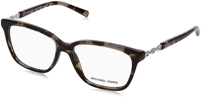 bbf648a013f Michael Kors SABINA IV MK8018 Eyeglass Frames 3107-52 - Black Tortoise Silver  MK8018