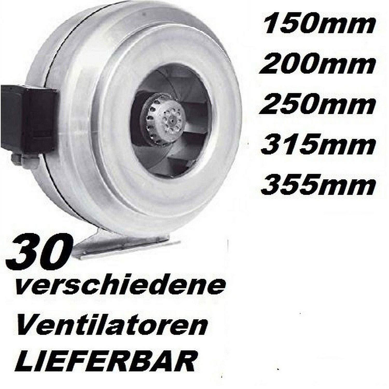 Uzman-Versand SG120E Industrie Radial ventilateur avec 500 W Variateur de vitesse Regulateur Radial Ventilateurs centrifuge Fan m/étal daspiration extracteurs extracteur Moteur 230v 230 Volt