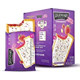 Legendary Foods Tasty Pastry Toaster Pastries   Ideal Low Carb Keto Breakfast   No Added Sugar   Balanced Keto Snacks to…