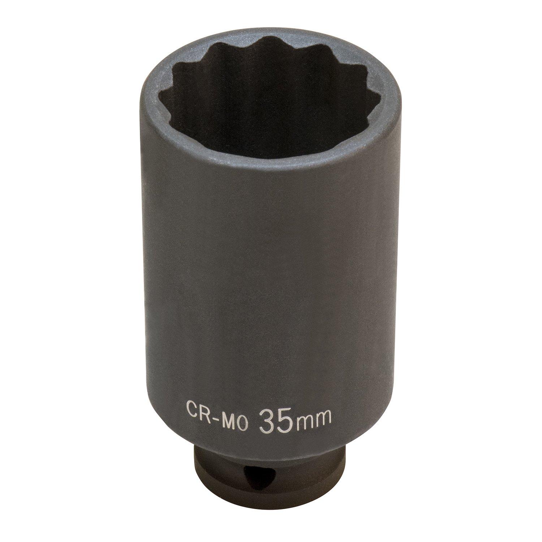 OEMTOOLS 27326 33mm Axle Nut Socket 12 Pt.