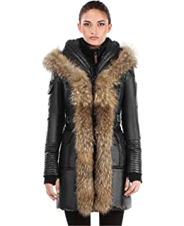 3cf23a83a Amazon.com: Rud by Rudsak Women's Toreva Zip Front Down Coat with ...