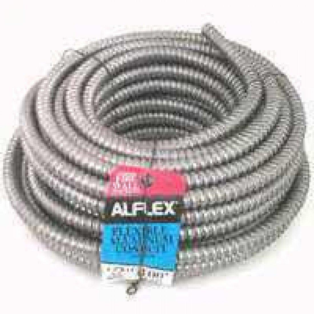 Southwire Fo3750050m Aluminum Flex Conduit 3 8 X 50'
