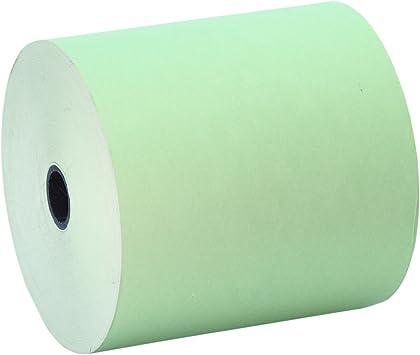 10 Rollos 80x80 Papel Térmico Color Verde: Amazon.es: Electrónica