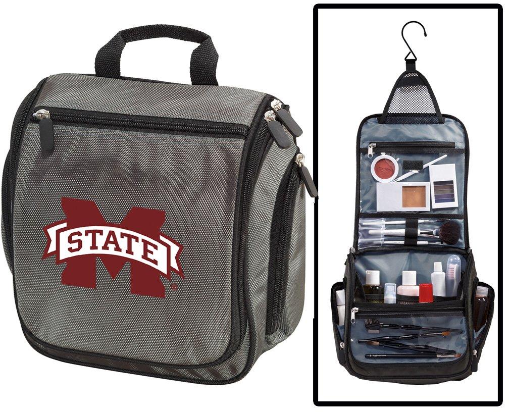Mississippi State University Toiletry Bags or Mens Shaving Kits HANGABLE Travel Bag