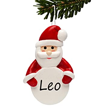 Personalised CHRISTMAS Decorations Father Xmas Tree Ornament