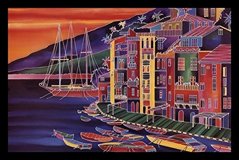 Buyartforless Diseño Italiano Sunset by Ron Mondz 28 x 18 Art ...