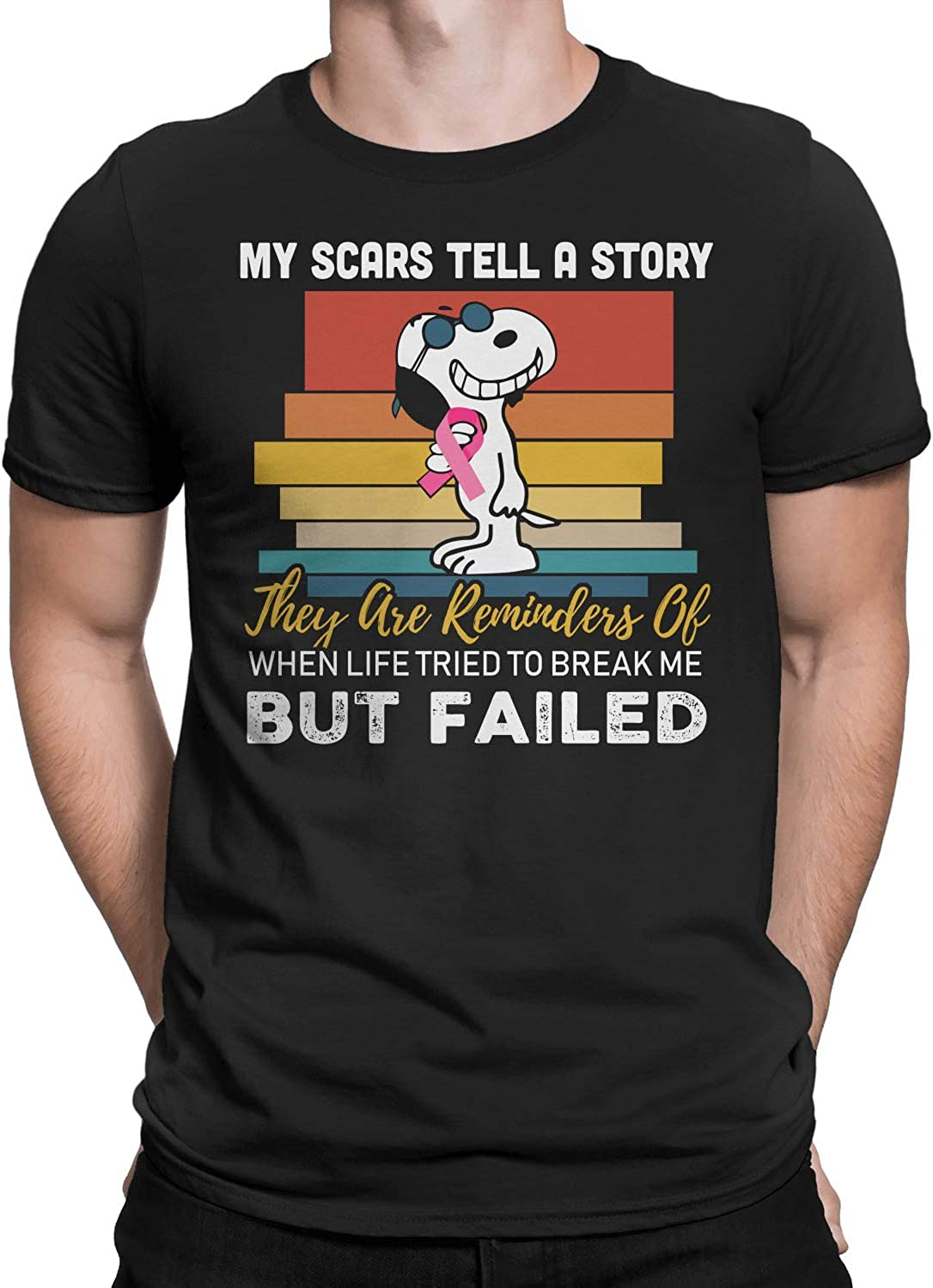 Life Tried to Break Me But Failed T-Shirt